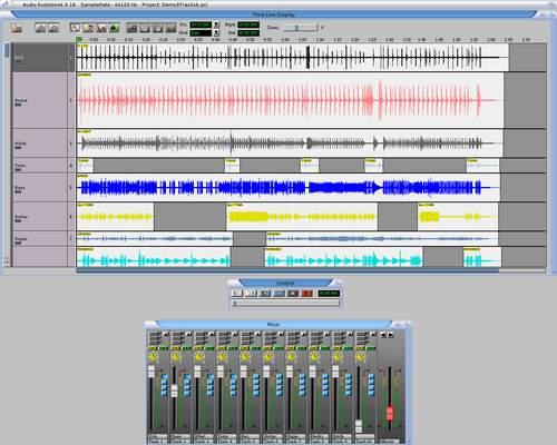 Audio Evolution 4 pro MorphOS