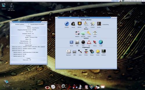 MorphOS 2.3 na Mac Mini G4
