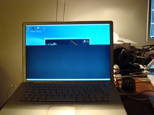 MorphOS na PowerBook G4