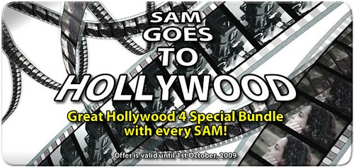 Sam Goes To Hollywood